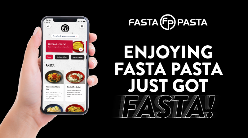 Fasta Pasta - Try our new App